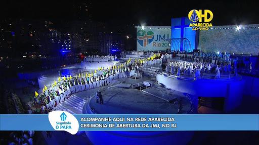 Missa de abertura JMJ 2013 Rio de Janeiro