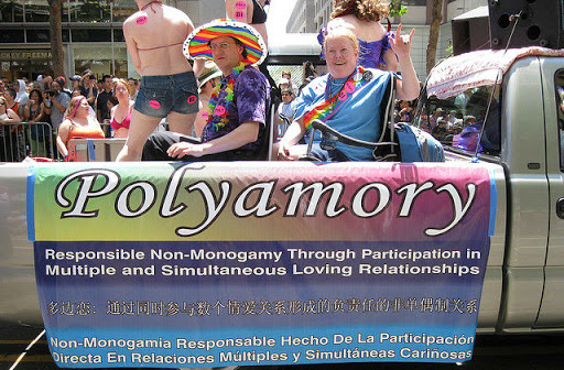 polyamory parade float - pt