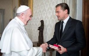 Italy - Religion - Vatican - Leonardo DiCaprio meets Pope Francis