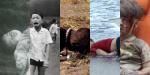 Fotos menino de Nagasaki, menina da bomba de Napalm, Sudão, Alan Kurdi e Omran Daqneesh