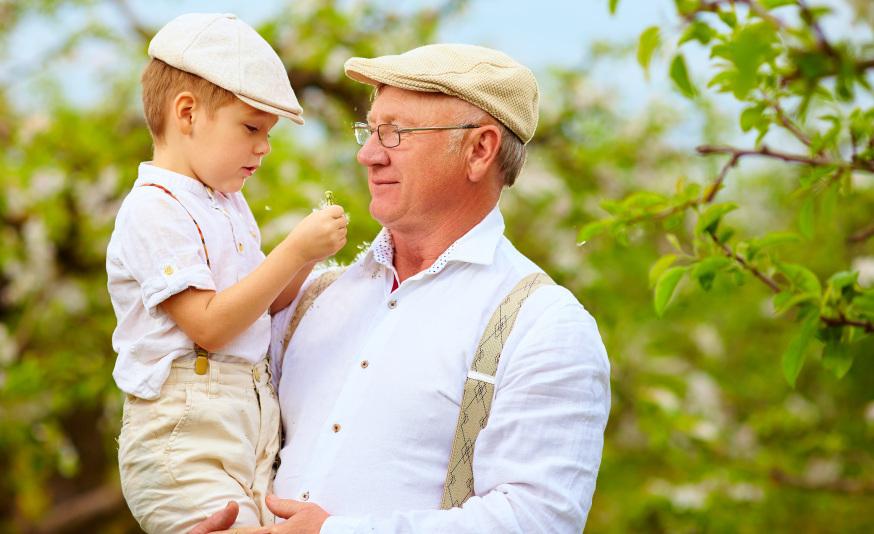 grandfather-child-indoctrination-olesia-bilkei-shutterstock
