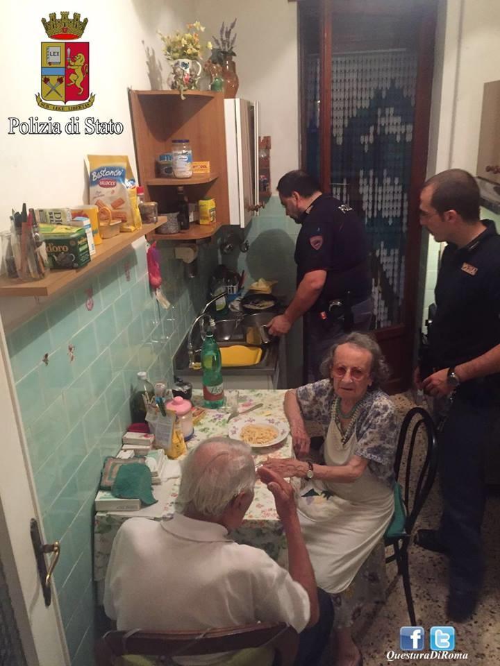 idosos roma