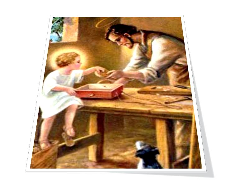 São José e o Menino Jesus 2