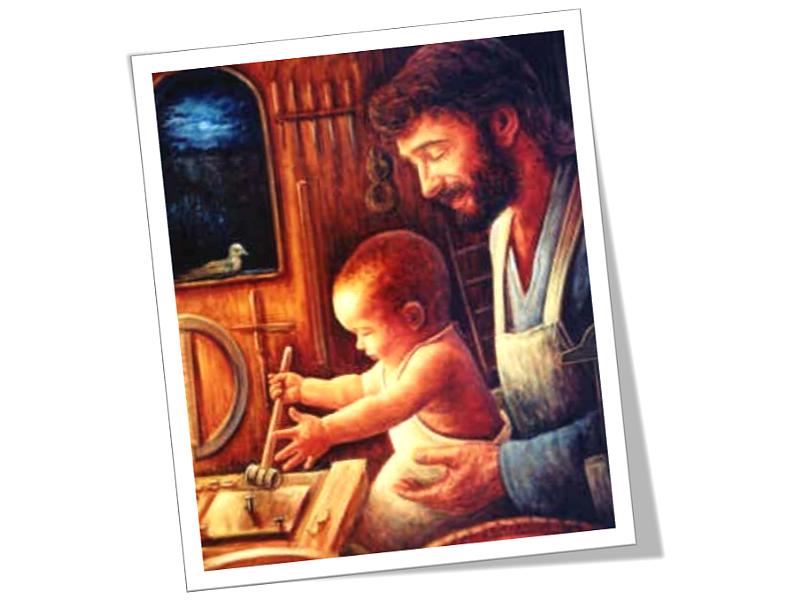 São José e o Menino Jesus 3