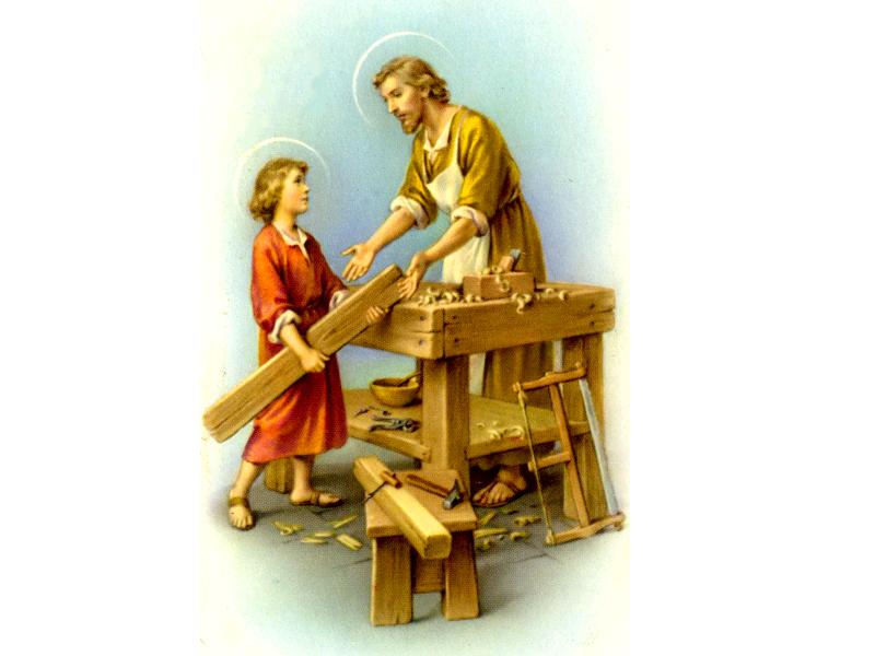 São José e o Menino Jesus 4