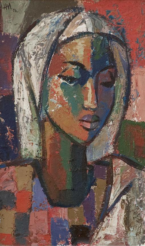 Virgem Maria Africana, Hennie Niemann Jnr de 2006, Johans Borman de Belas Artes.