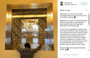 Reprodução/Instagram Marcos Mion