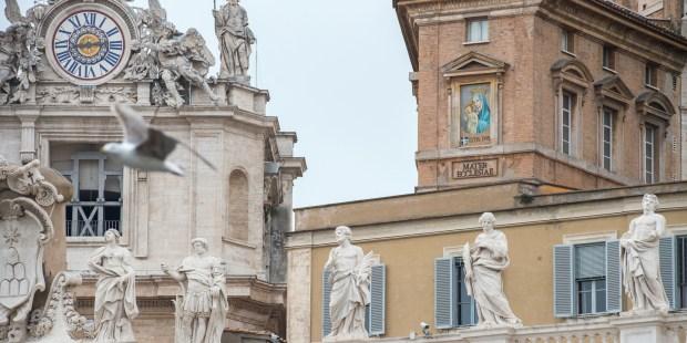 O mosaico de Maria e o atentado a João Paulo II