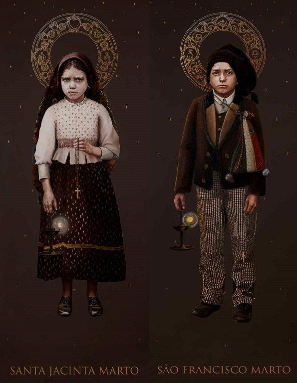 Santos Francisco e Jacinta Marto