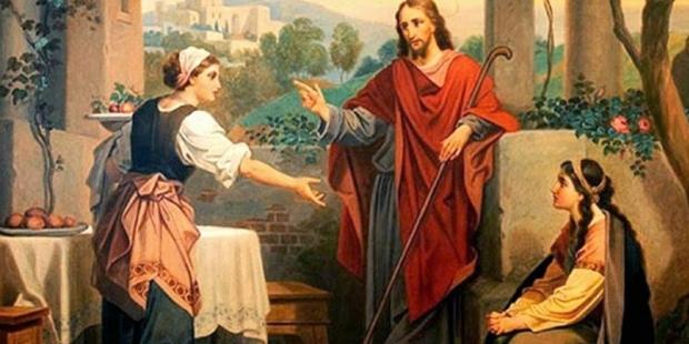 Santas Marta e Maria de Betânia