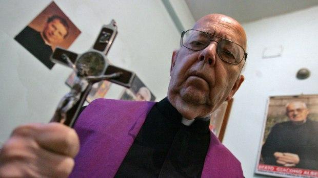 Exorcista padre Gabriele Amorth