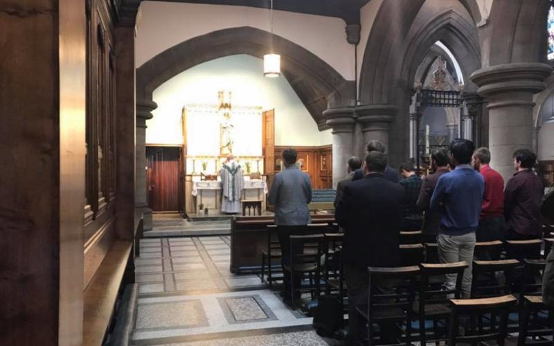 Missa despedida de solteiro - Catedral de Edimburgo