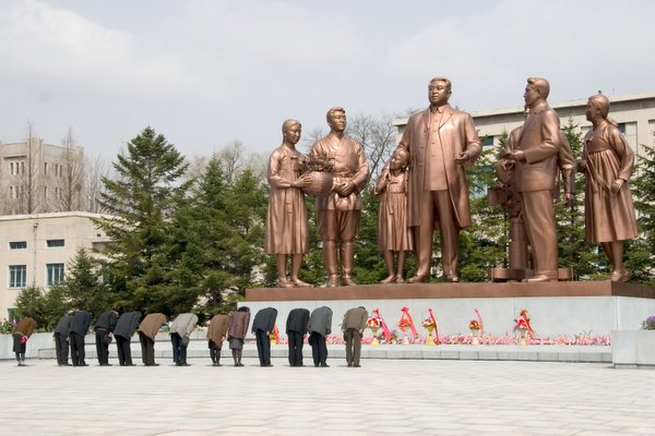 Estátua de Kim Il-sung