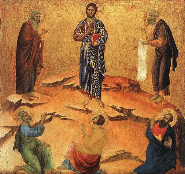 Transfiguração Duccio di Buoninsegna