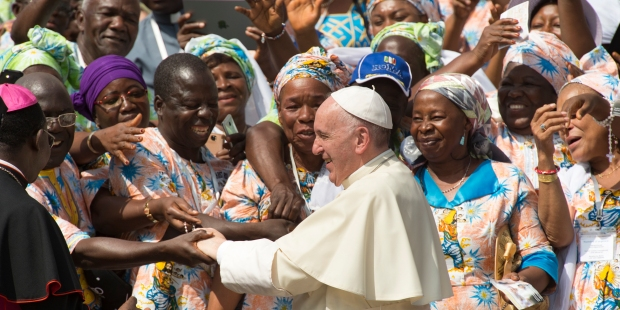 POPE FRANCIS,AFRICAN