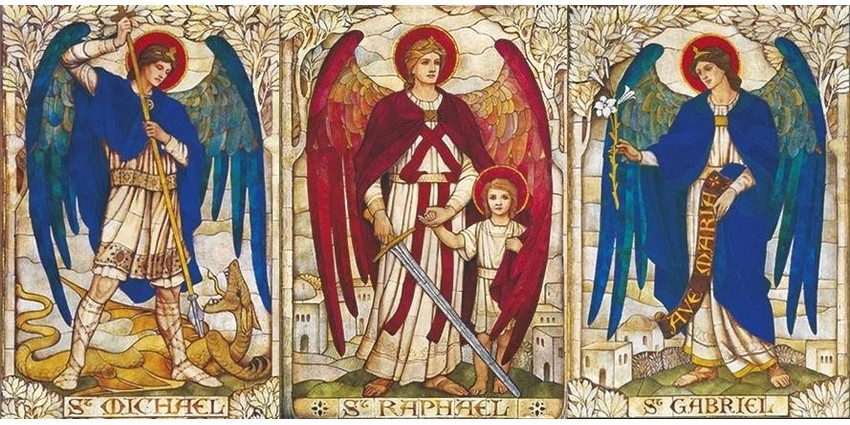 Arcanjos São Miguel, São Rafael e São Gabriel