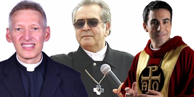 Padre Marcelo Rossi, Zezinho e Fábio de Melo