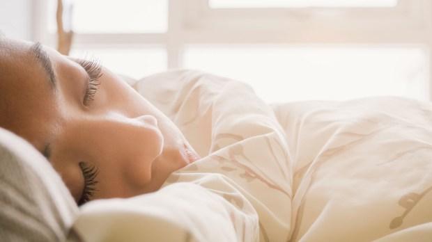 ASIAN,WOMAN,SLEEPING