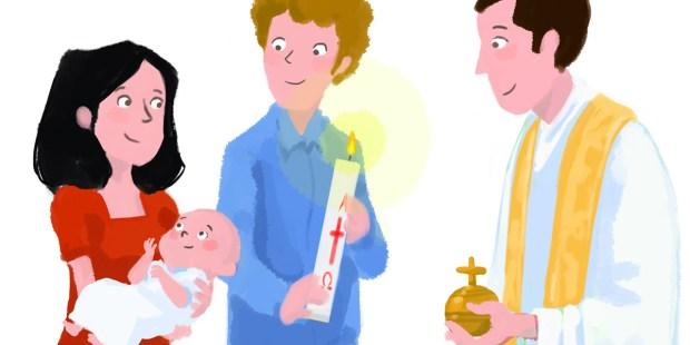 Batismo nos faz filhos de Deus na ordem da graça