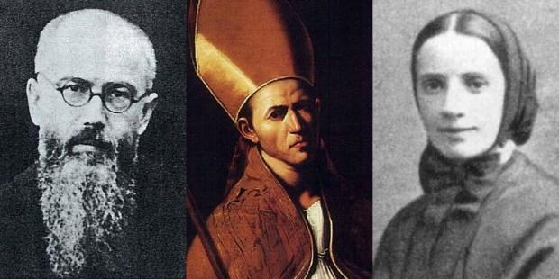 MAXIMILLIAN KOLBE,ST JANUARIUS,ST FRANCES CABRINI PD