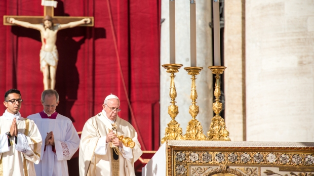 Pope Francis canonizations