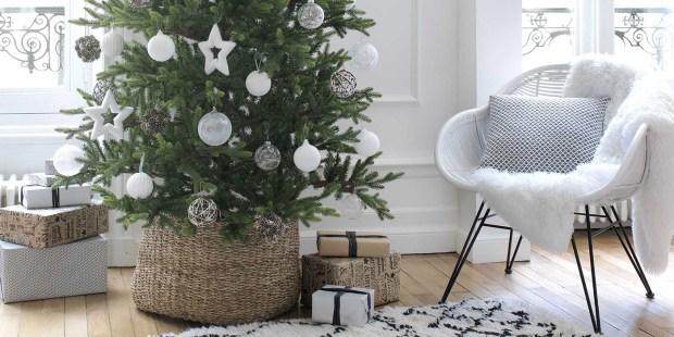 beau sapin de Noël