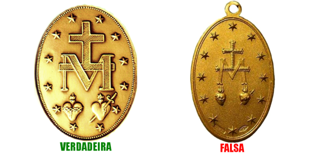 Medalha Milagrosa verdadeira ou falsa