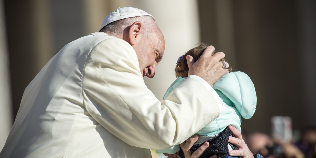 Pope Francis Baby