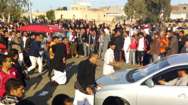 ZAMACH TERRORYSTYCZNY W EGIPCIE