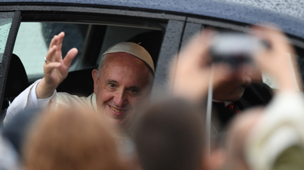 POPE FRANCIS,CAR