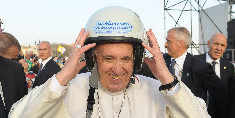 POPE HELMET