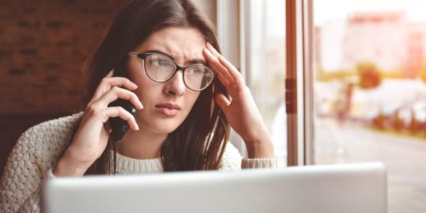 STRESSED,WOMAN,COFFEE,WORK