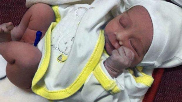 Bebê resgatado Iraque