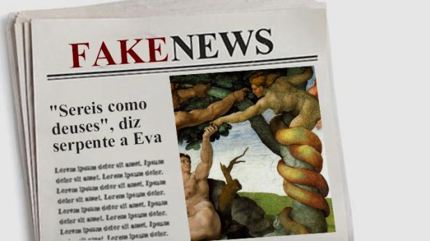 fake news serpente eva
