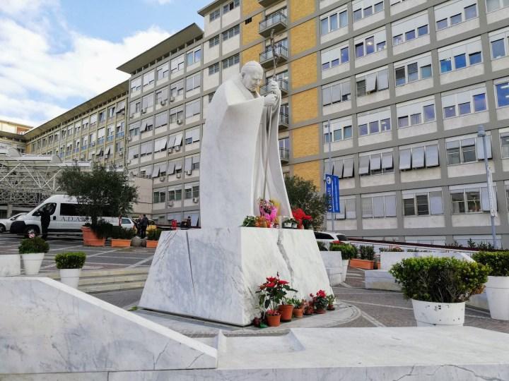 Statue John Paul II Rome