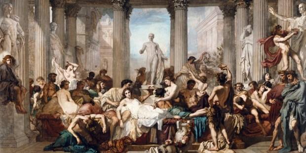 Os Romanos da Decadência - Thomas Couture (Museu de Orsay, 1847)