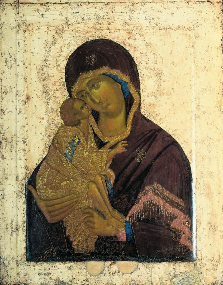 Panagia Eleusa de Teófanes, o Grego