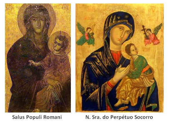 Salus Populi Romani e N Sra Perpétuo Socorro