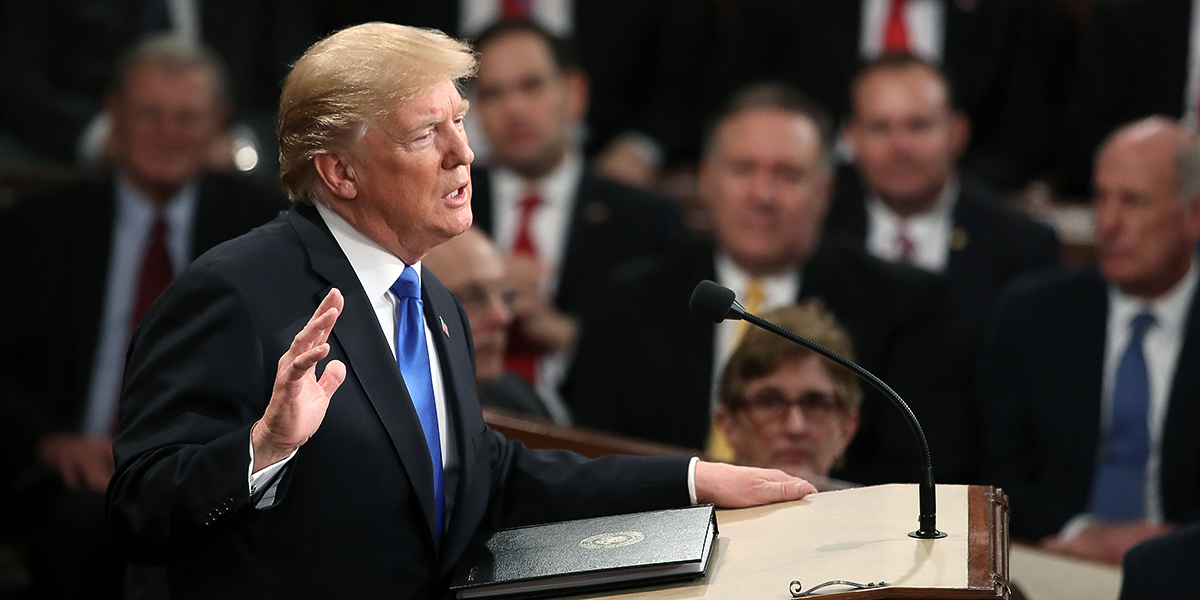 TRUMP,STATE OF THE UNION