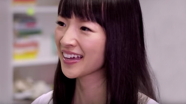 MARIE KONDO,THE LIFE CHANGING MAGIC OF TIDYING UP