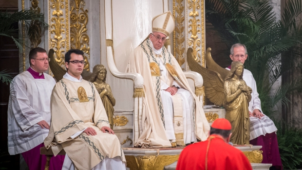 POPE SECOND VESPERS