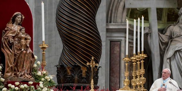 Pope Francis Mass New Year