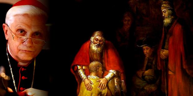 Cardeal Ratzinger e a parábola do filho pródigo