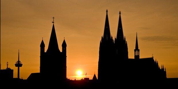 Igreja na Alemanha: catedral de Colônia
