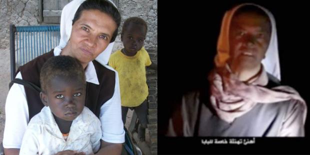 Irmã Gloria Cecilia Narvaez sequestrada