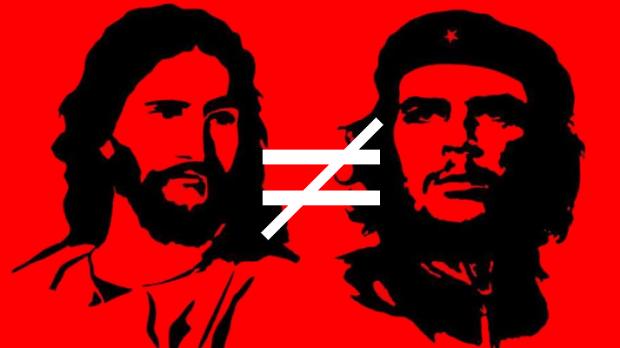 jesus vs che guevara ou cristão vs marxista