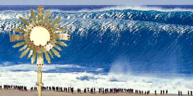 tsunami milagre Santíssimo