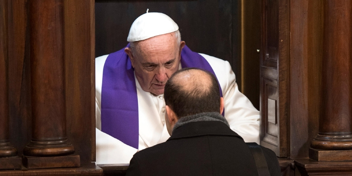 POPE FRANCIS,CONFESSION