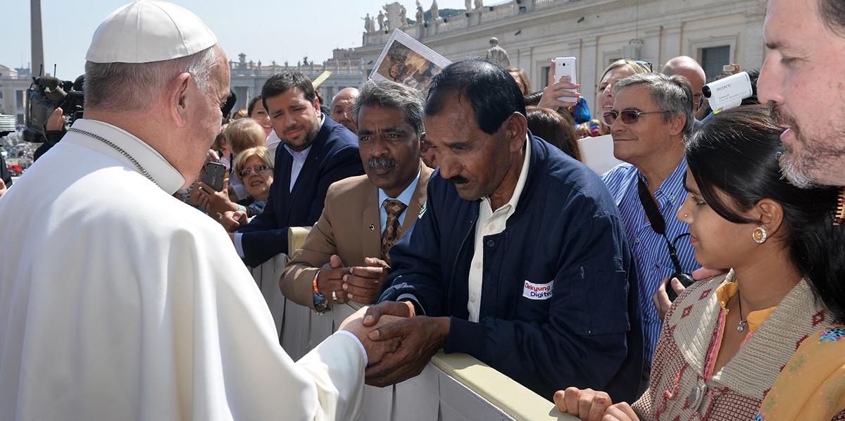 POPE FRANCIS ASIA BIBI