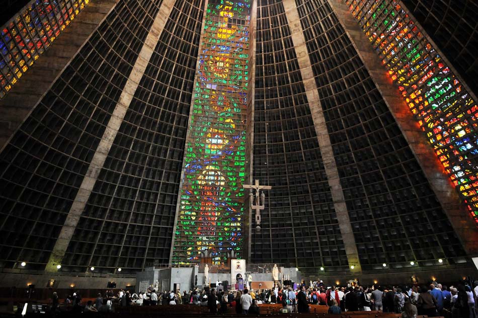 catedral São Sebastião Rio de Janeiro